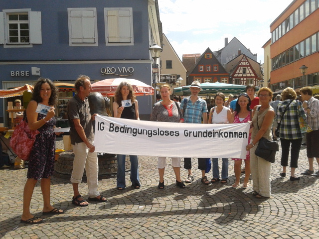 bedingungslose Lesung in Offenburg